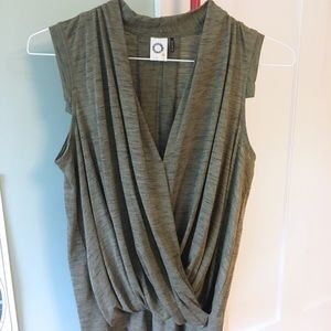 Anthropologie Olive Green Tank Top